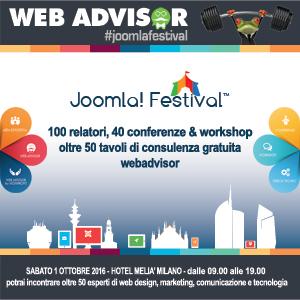 HostingVirtuale sponsor del Joomla Festival 2016