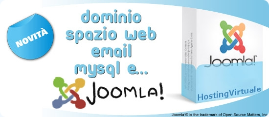 Hosting Joomla in italiano
