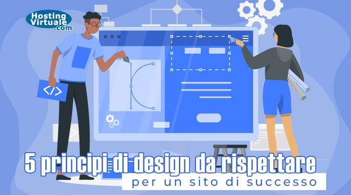 5 principi di design da rispettare