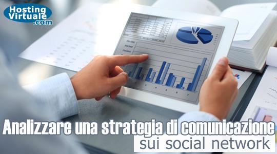 Analizzare una strategia di comunicazione sui social network