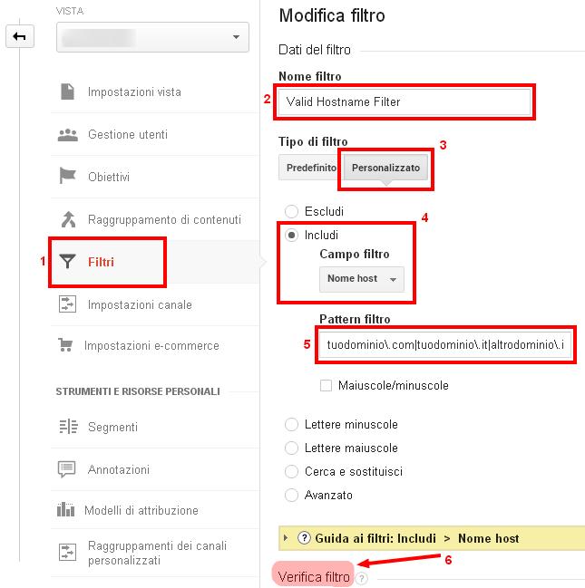 Valid Hostname Filter