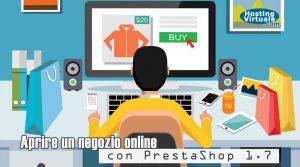 Aprire un negozio online con PrestaShop 1.7