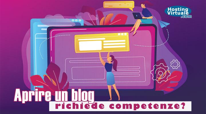 Aprire un blog richiede competenze?