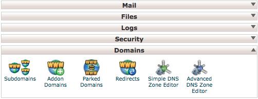 Associare dominio da cPanel