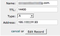 Gestione DNS dominio con cPanel