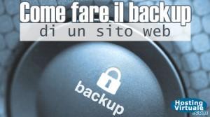 Come fare il backup di un sito web