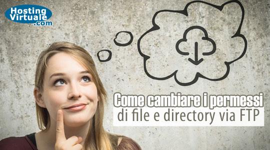 Come cambiare i permessi di file e directory via FTP