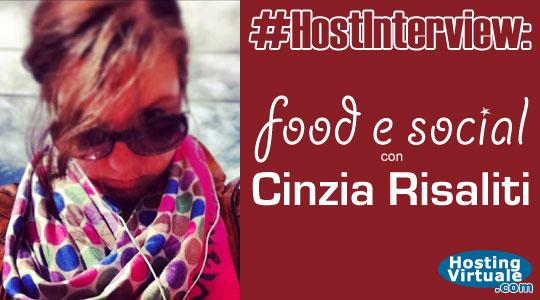 #HostInterview: food e social con Cinzia Risaliti
