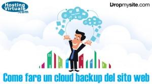 Come fare un cloud backup del sito web