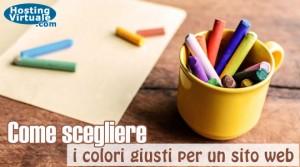 Come scegliere i colori giusti per un sito web