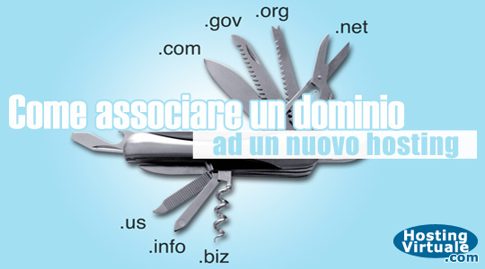 Come associare un dominio ad un nuovo hosting