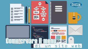 Come creare il menu di un sito web