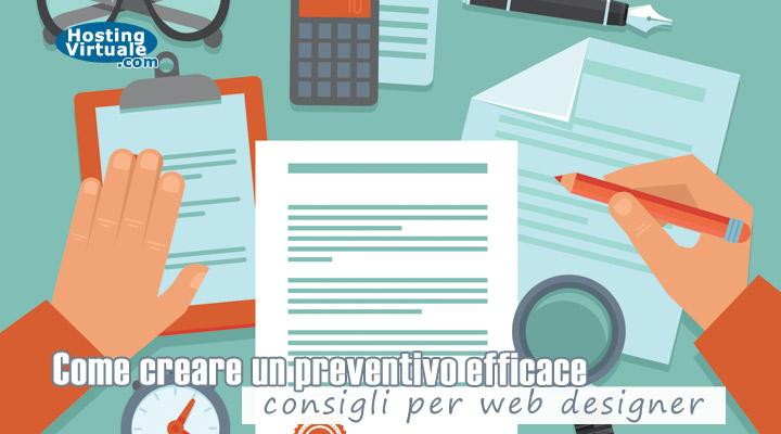 Come creare un preventivo efficace, consigli per web designer
