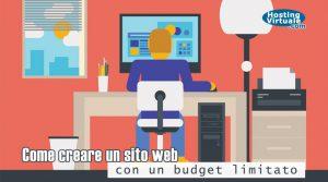 Come creare un sito web con un budget limitato