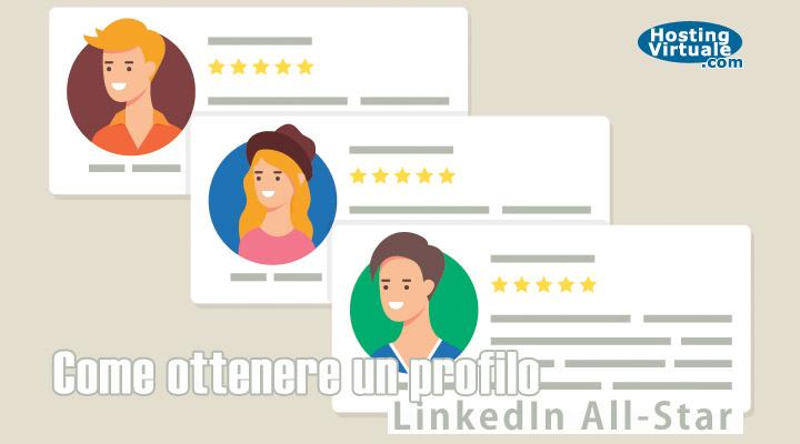 linkedin all-star | profilo linkedin