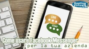 Come usare Facebook Messenger per la tua azienda