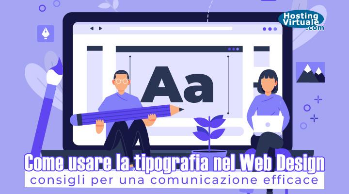 Come usare la tipografia nel web design