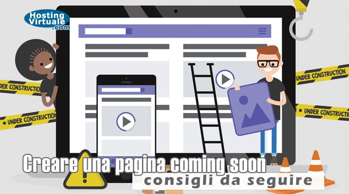 Creare una pagina coming soon: consigli da seguire