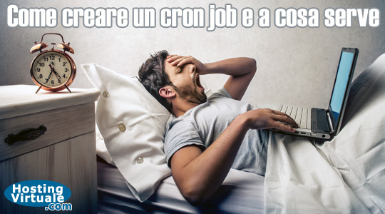 Come creare un cron job e a cosa serve