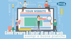 Come creare il footer di un sito web: esempi e buone pratiche