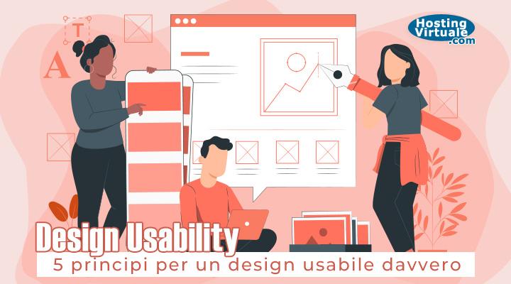Design usability 5 principi per un design usabile