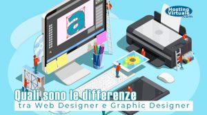 Quali sono le differenze tra Web Designer e Graphic Designer?