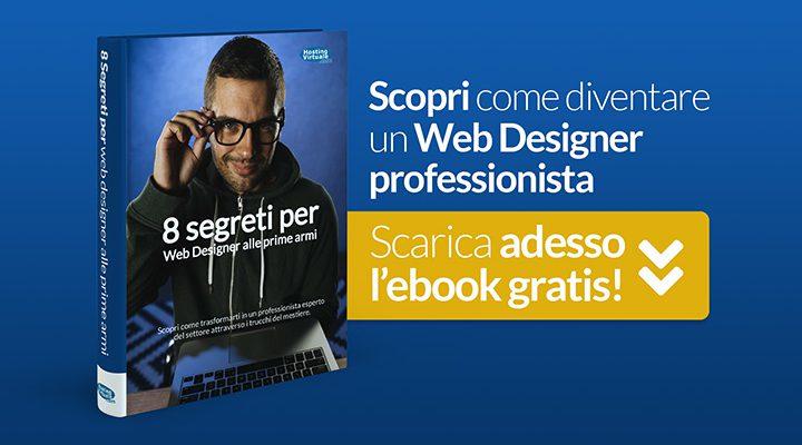 Scopri come diventare un Web Designer Professionista