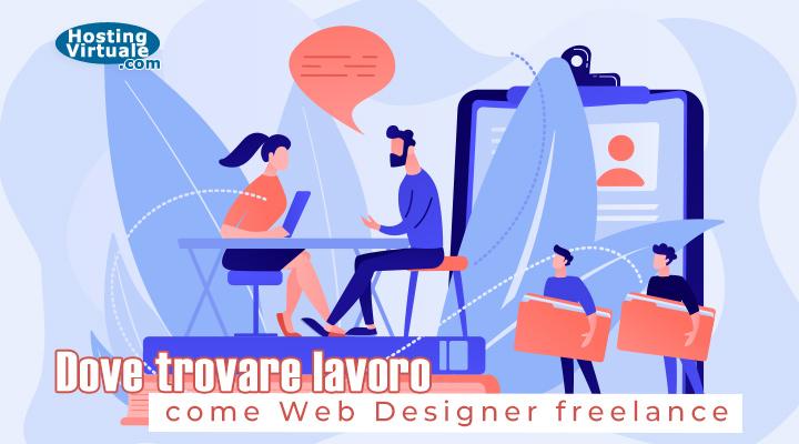 Dove trovare lavoro come web designer freelance