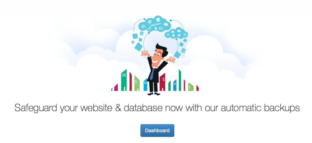 DropMySite Il Cloud Backup