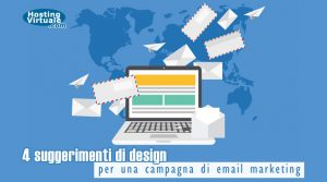 4 suggerimenti di design per una campagna di email marketing