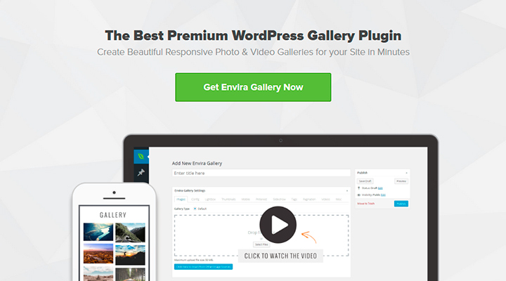 Envira gallery - WordPress Gallery Plugin