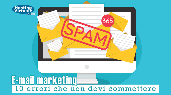 E-mail marketing: 10 errori che non devi commettere