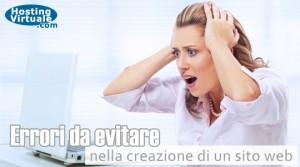Errori da evitare nella creazione di un sito web