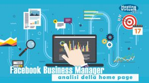 Facebook Business Manager: analisi della home page
