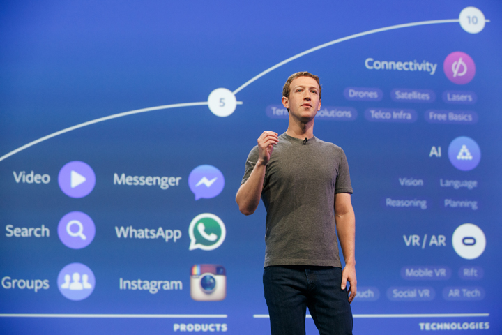 Zuckerberg al summit F8