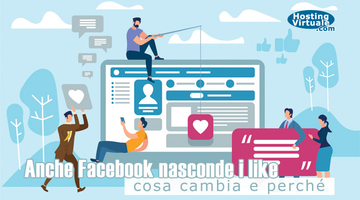 Anche Facebook nasconde i like: cosa cambia e perché