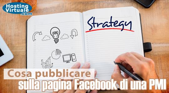 Cosa pubblicare sulla pagina Facebook di una PMI