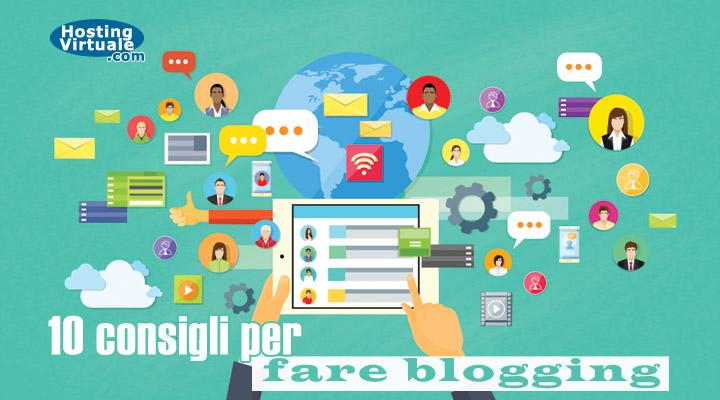 10 consigli per fare blogging