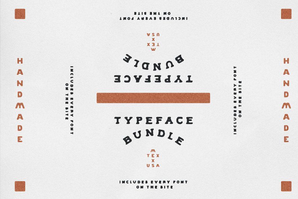 Font Vintage Southwestern Handmade Font Bundle