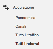 Google Analytics referral