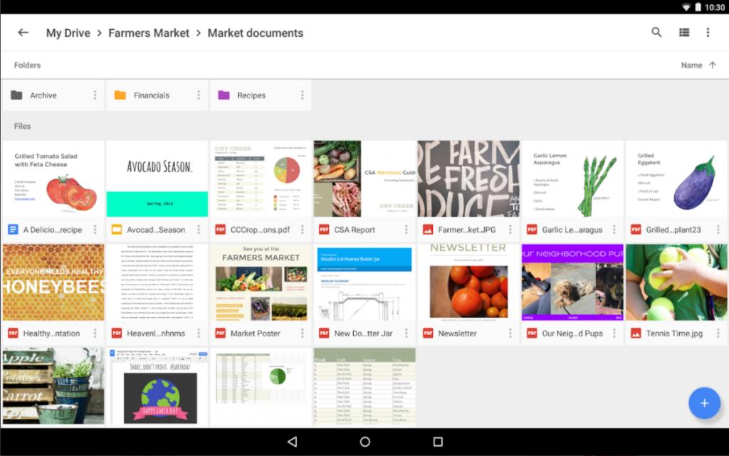 Google Drive: gestione documenti