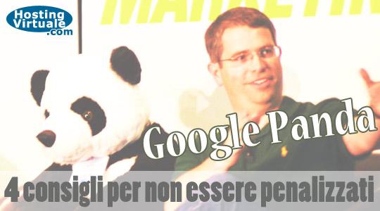 Google Panda: 4 consigli per non essere penalizzati