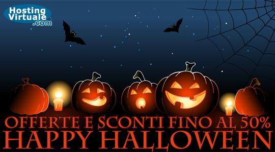 Offerte hosting Halloween