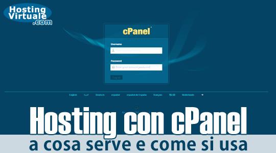 Hosting con cPanel: a cosa serve e come si usa