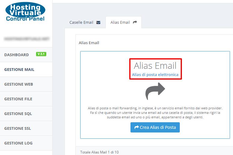 HVCP: Alias email