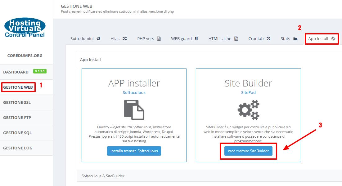 HVCP: come attivare SitePad