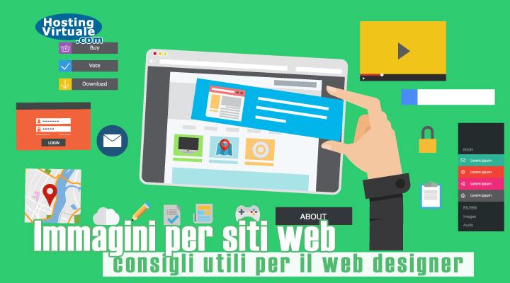 Immagini per siti web: consigli utili per il web designer