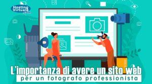 L'importanza di avere un sito web per un fotografo professionista