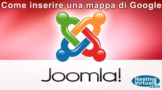 Joomla: Come inserire una mappa