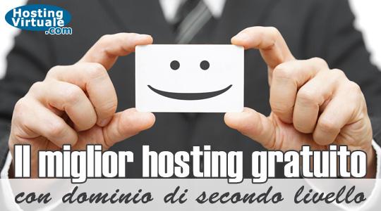 Il miglior hosting gratuito con dominio di secondo livello